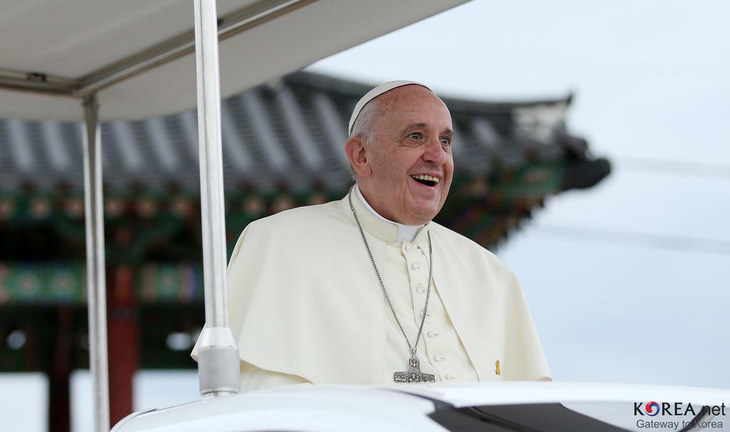 pope francis fotografia