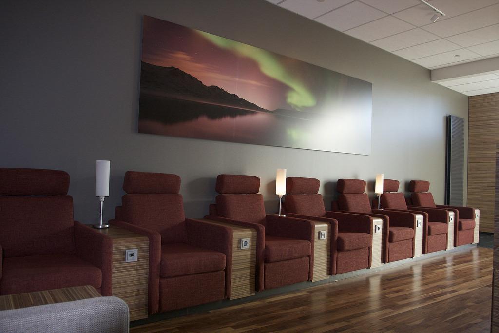 Iceland airport fotografia