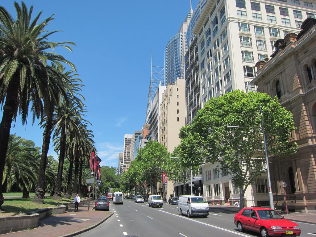 sydney streets fotografia