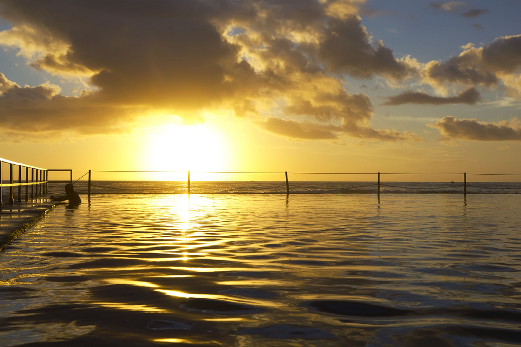 sydney sunrise fotografia