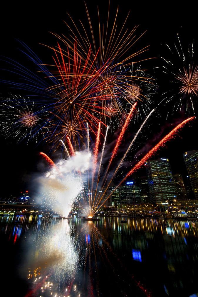 sydney fireworks fotografia