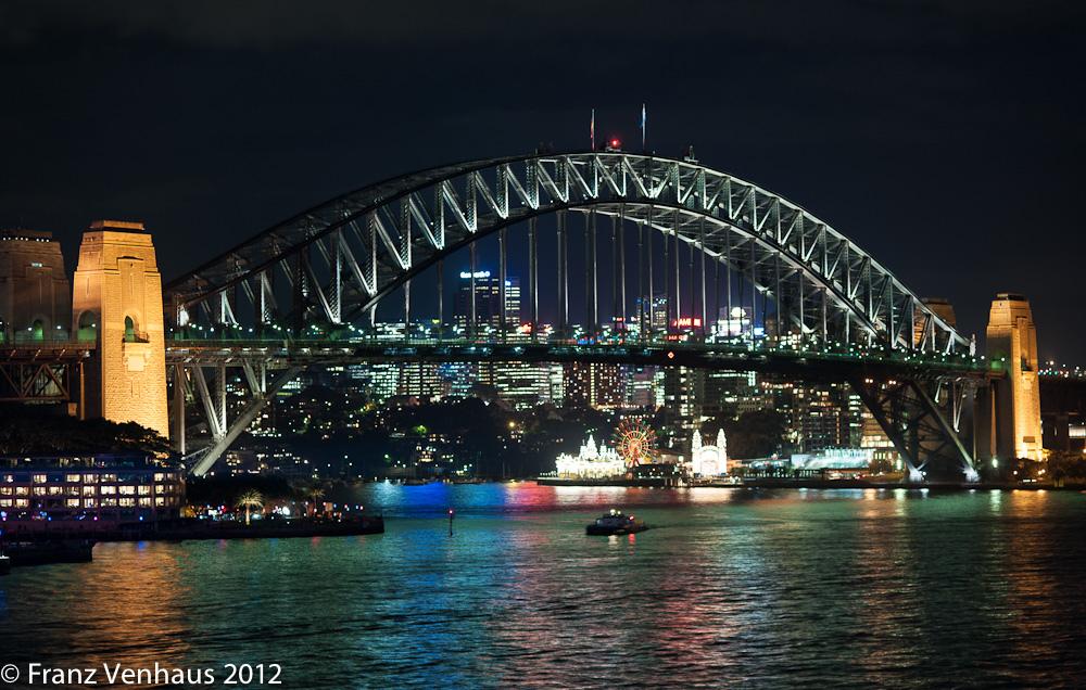 harbour bridge sydney fotografia