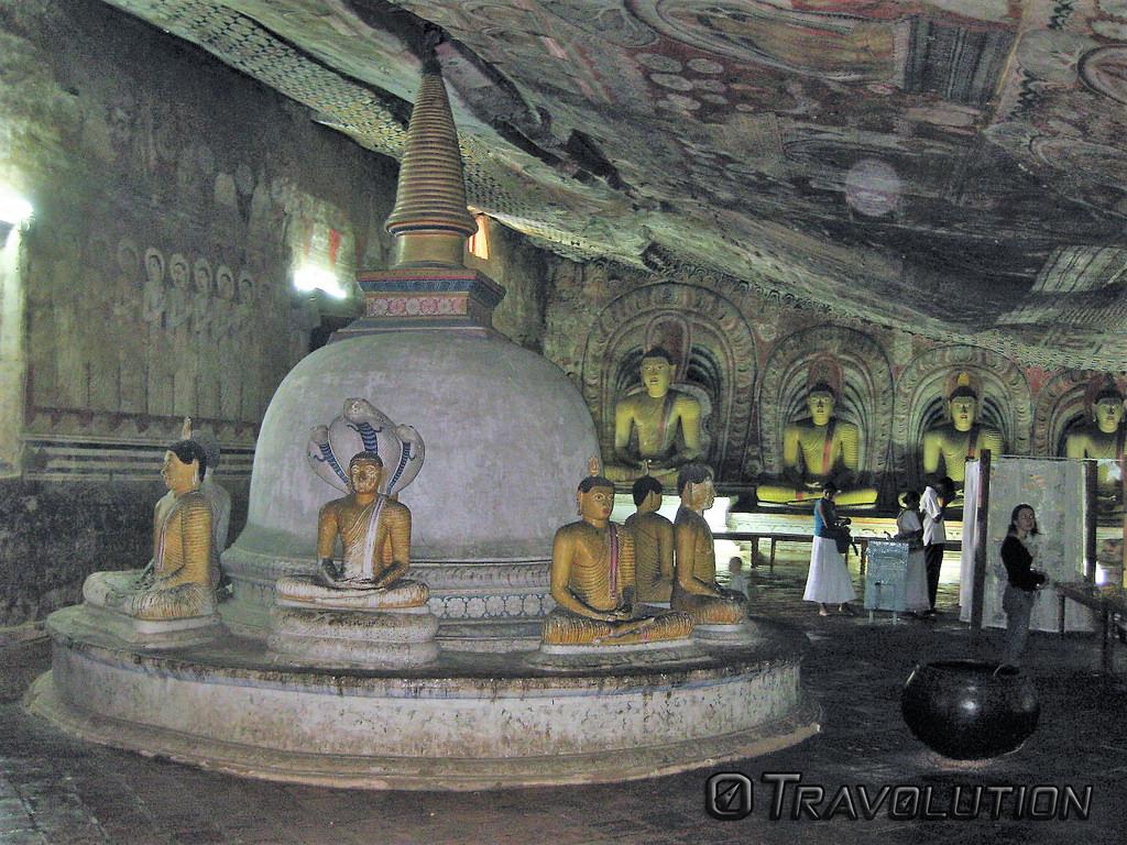 dambulla buddha fotografia