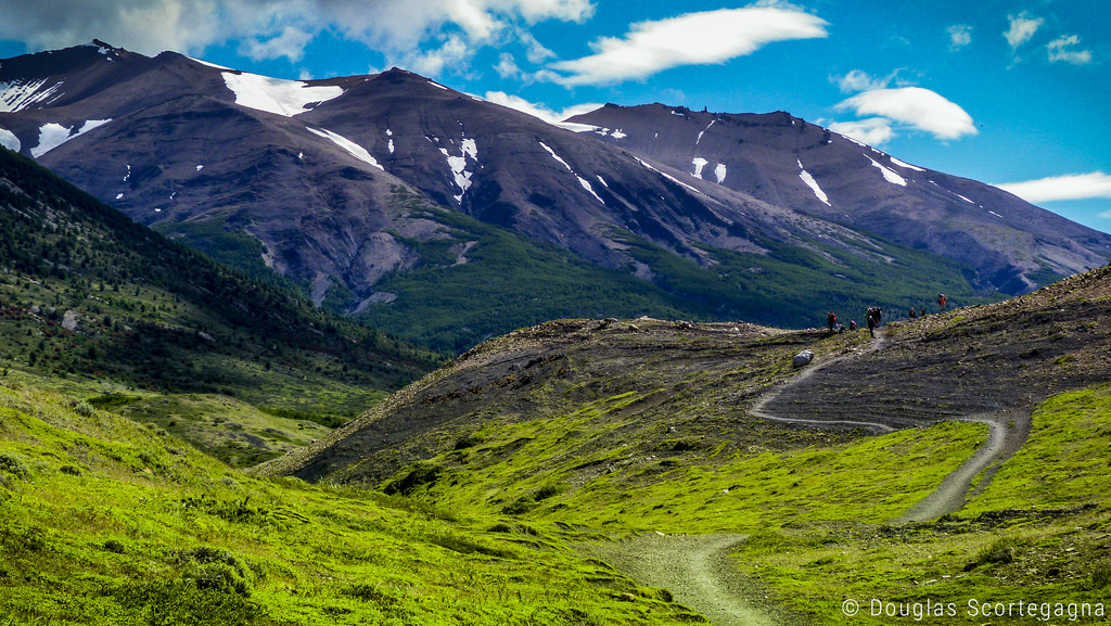 National park in Chile fotografia
