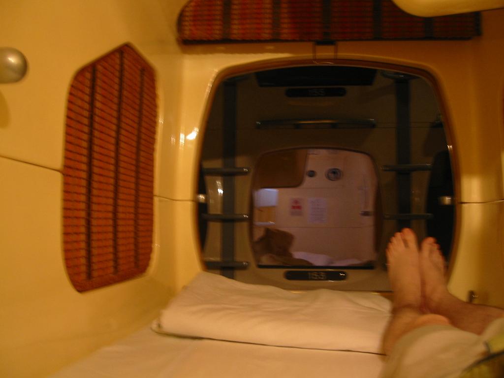 capsule hotel fotografia