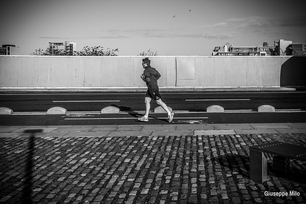 running man fotografia