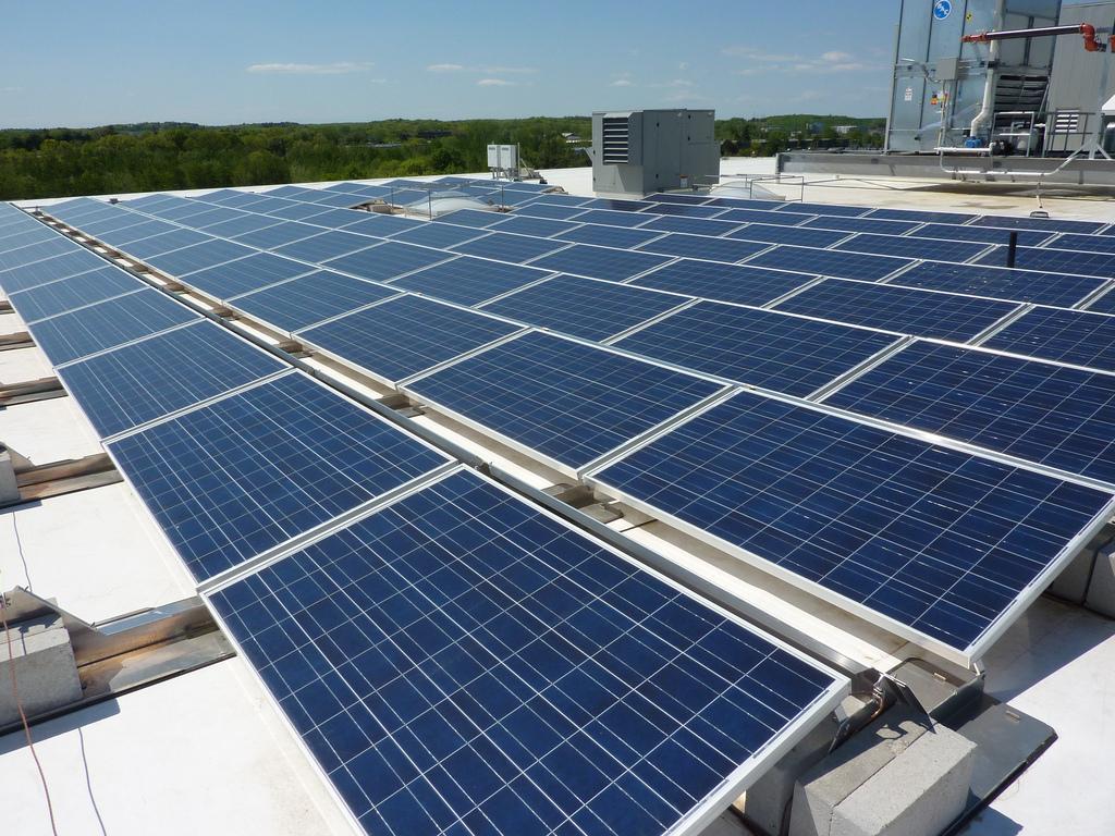 solar panel fotografia