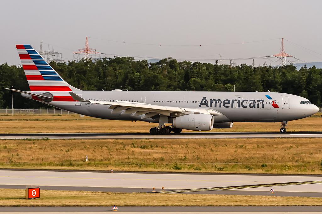 american airlines fotografia