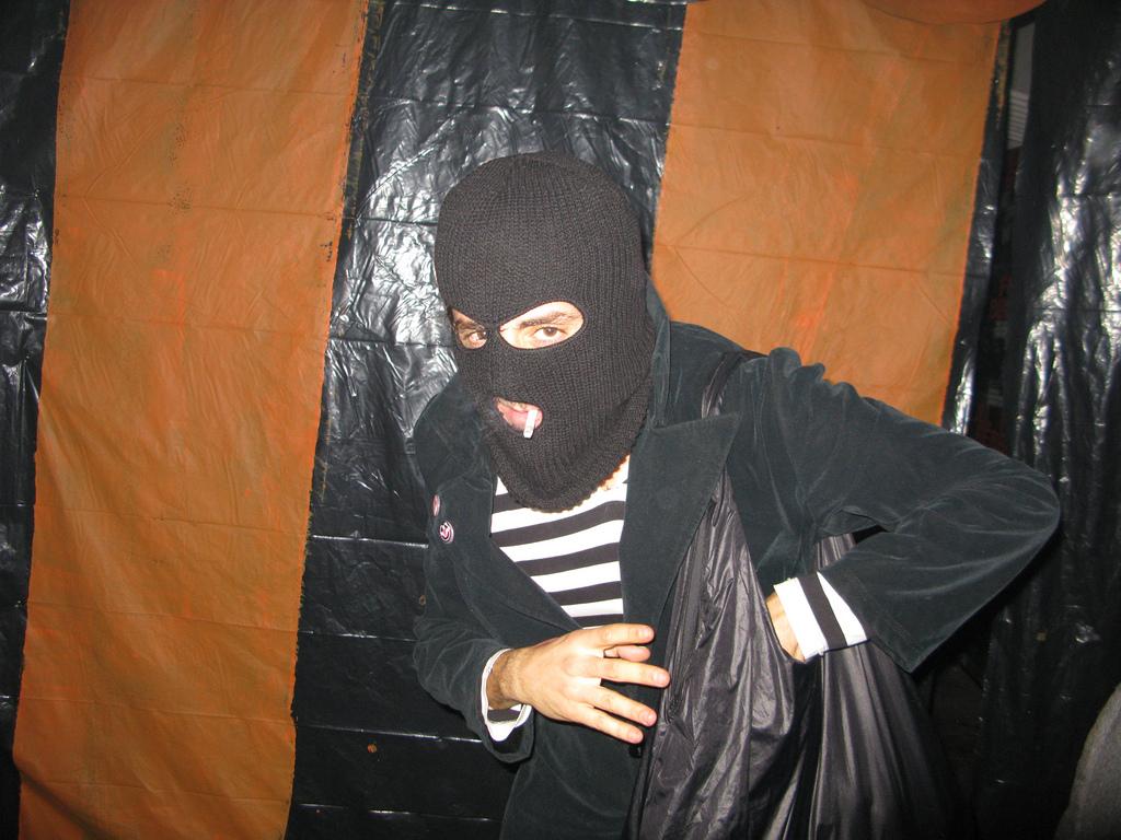 burglar fotografia