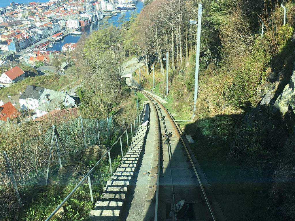 bergen train fotografia