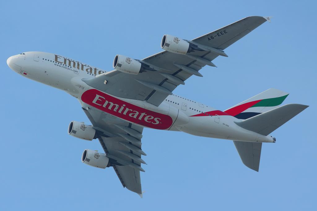 airlines emirates fotografia