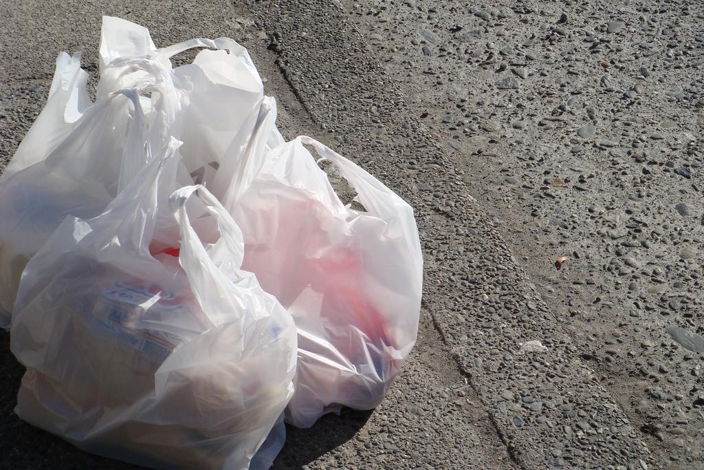 plastic bags fotografia