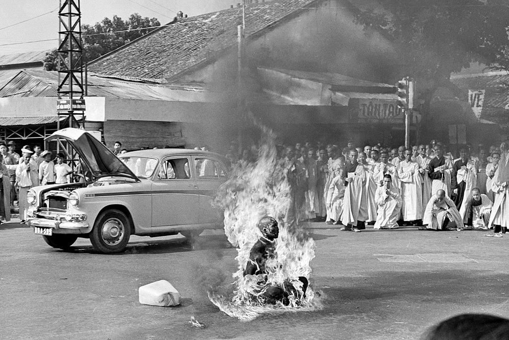 self-immolation fotografia