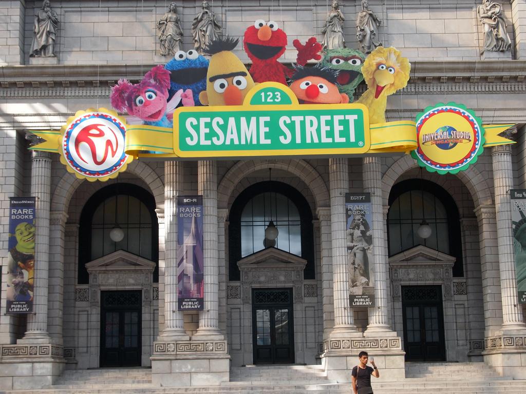 sesame street fotografia