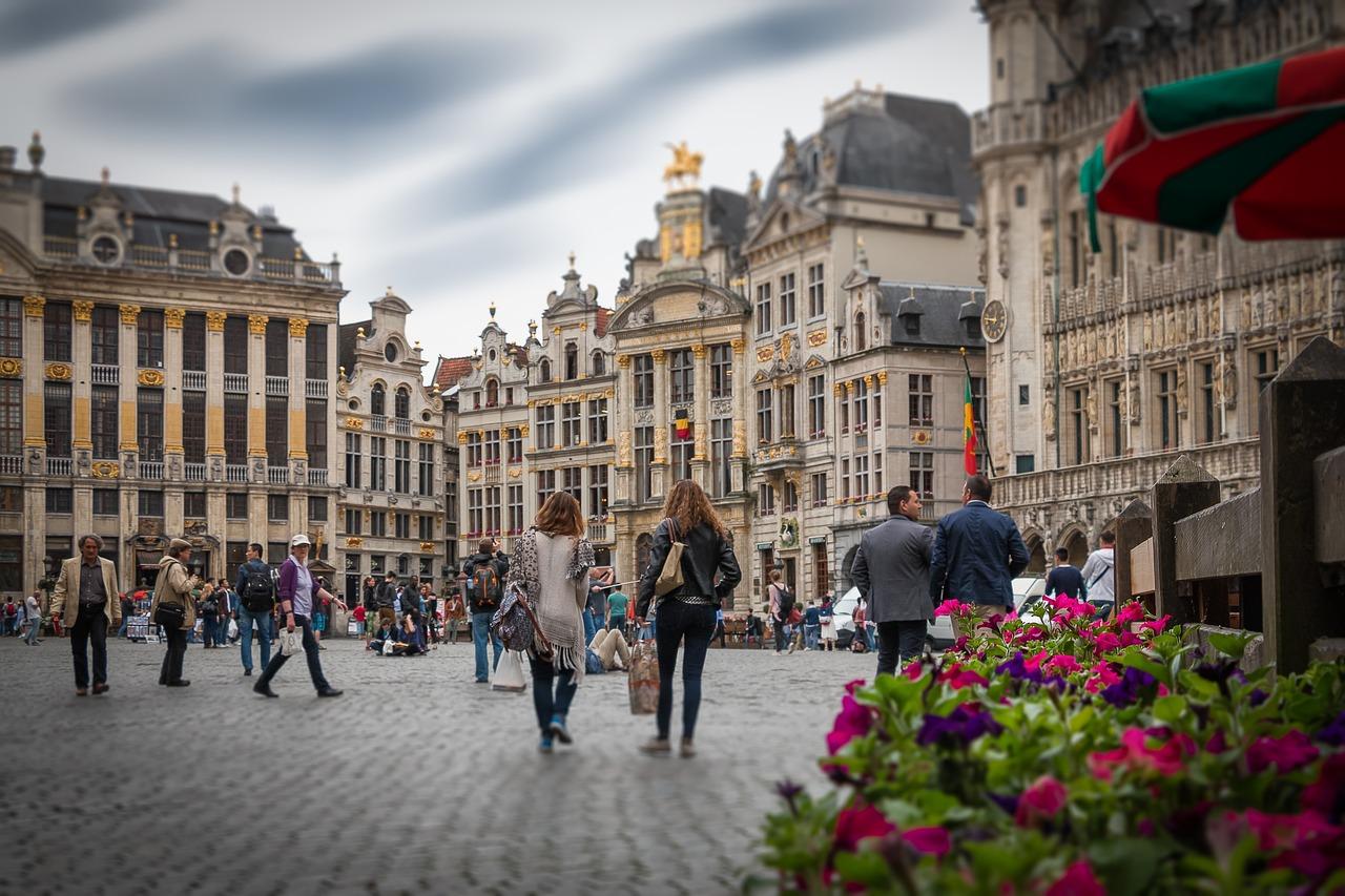 brusel fotografia