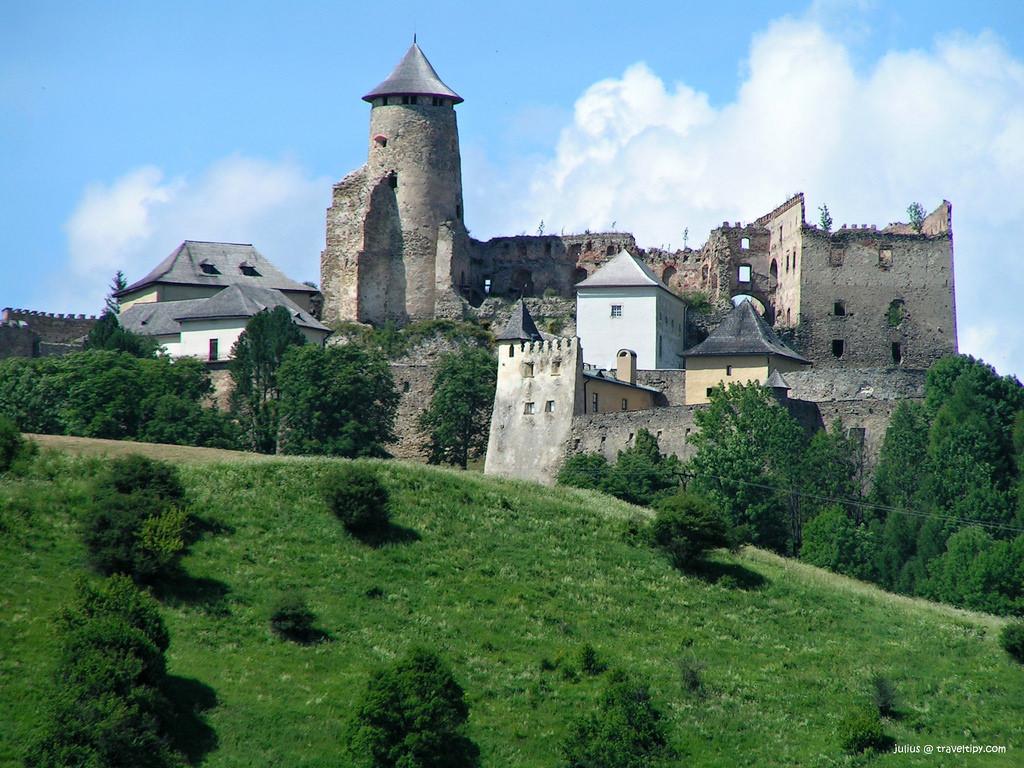 stara lubovna castle fotografia