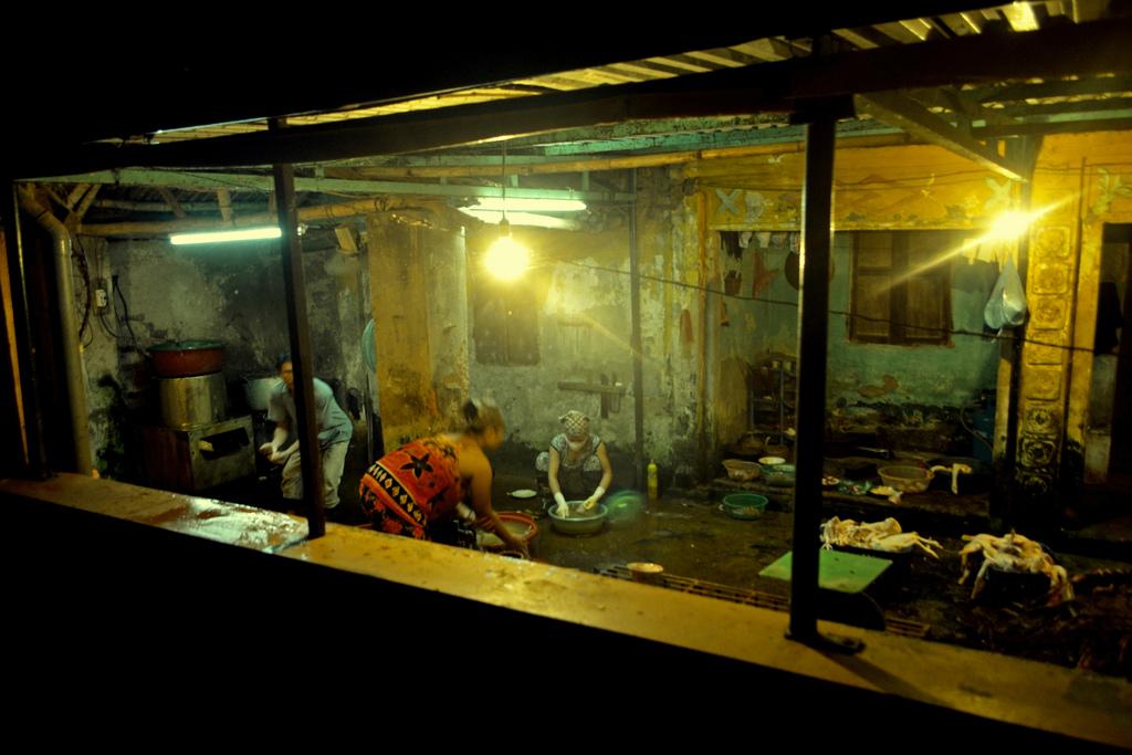 Slaughterhouse Worker fotografia