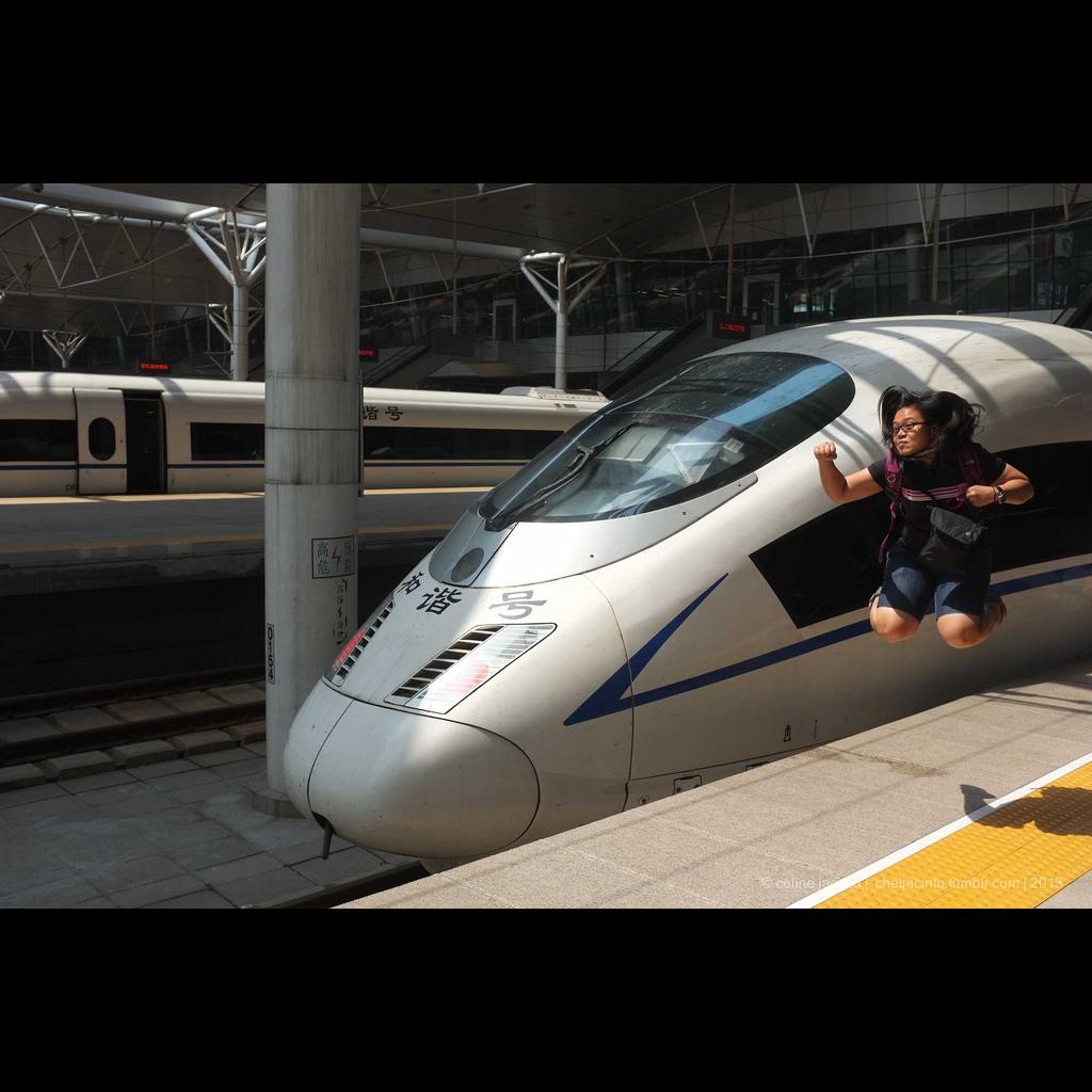 bullet train fotografia