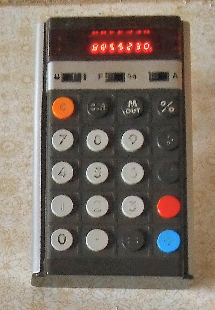 pocket calculator fotografia