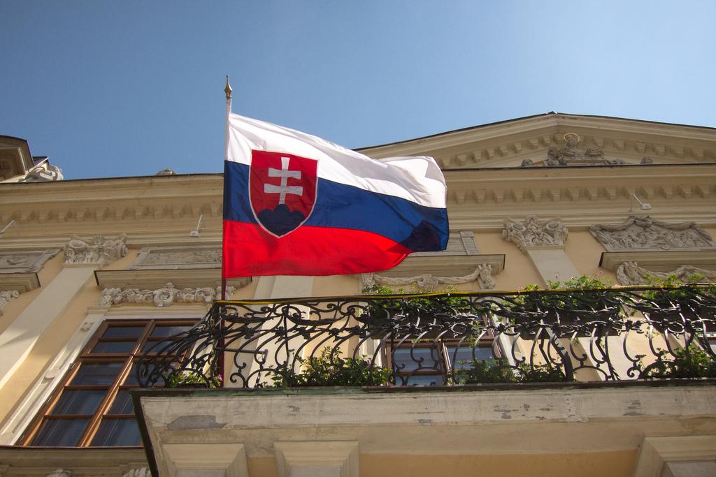 slovak flag fotografia