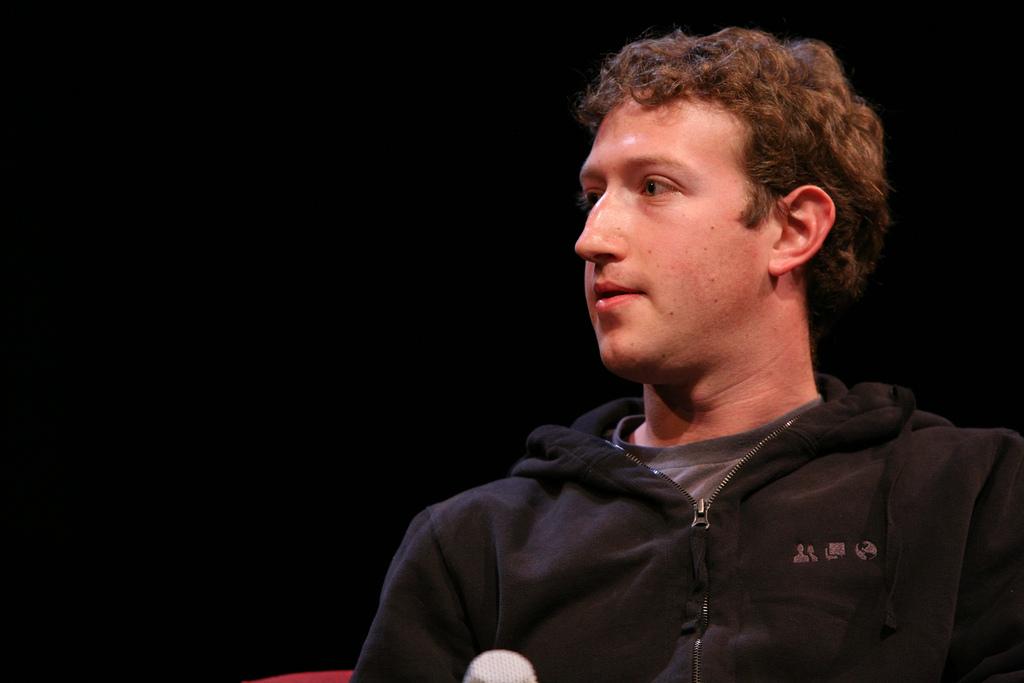 Mark Zuckerberg fotografia
