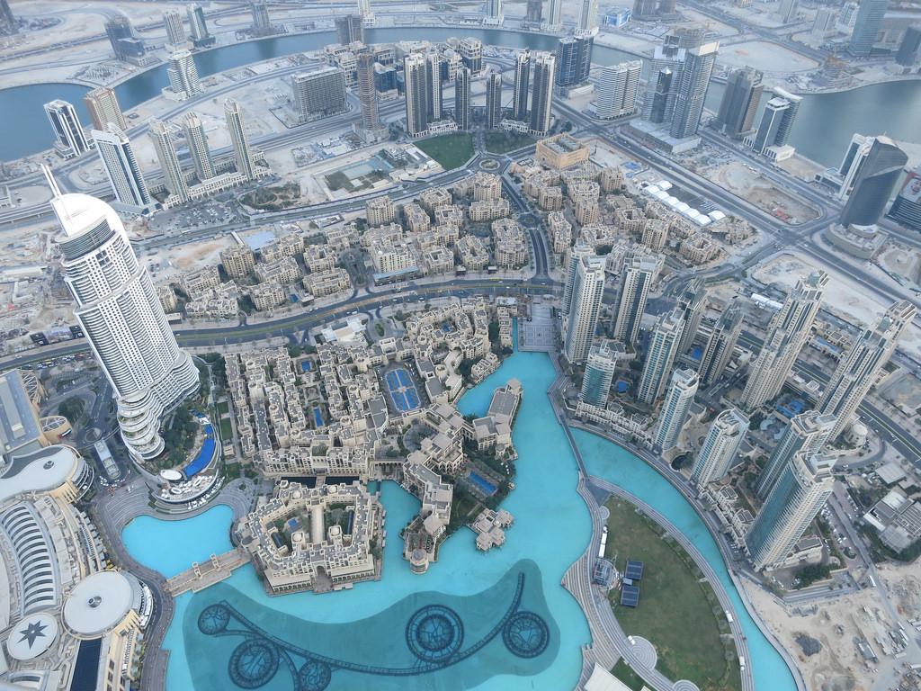 dubai burj khalifa fotografia