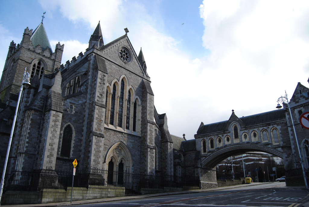 dublin christ church cathedral fotografia