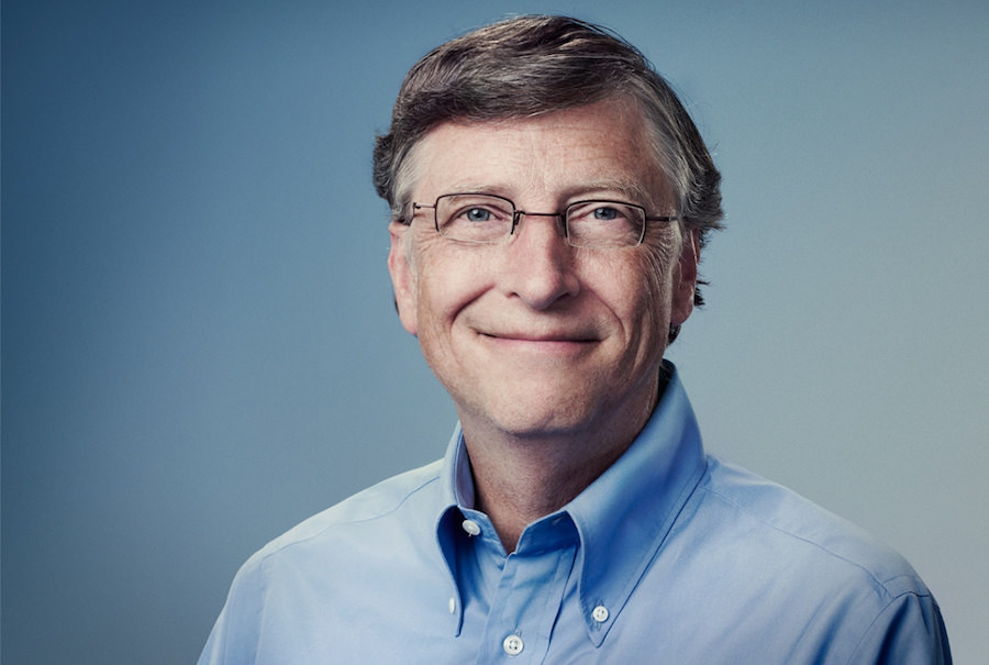 bill gates fotografia