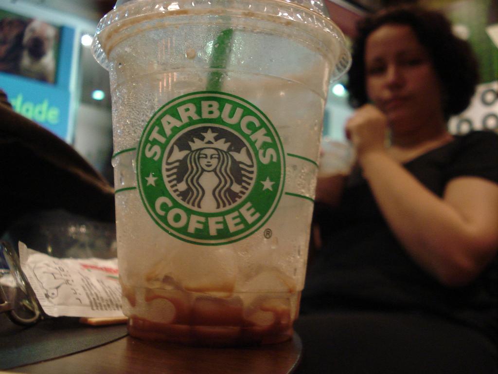 starbucks coffee fotografia