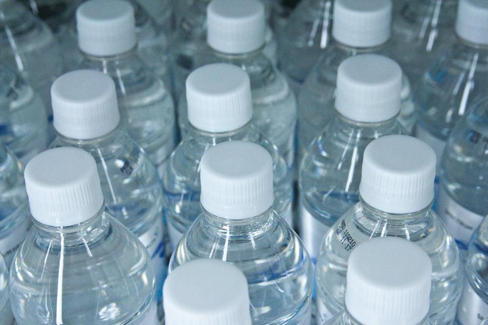 bottle of water fotografia