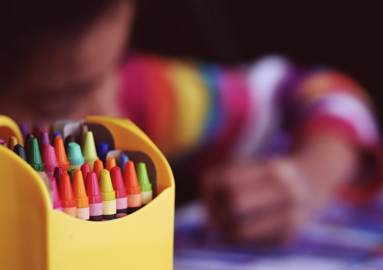 crayons fotografia