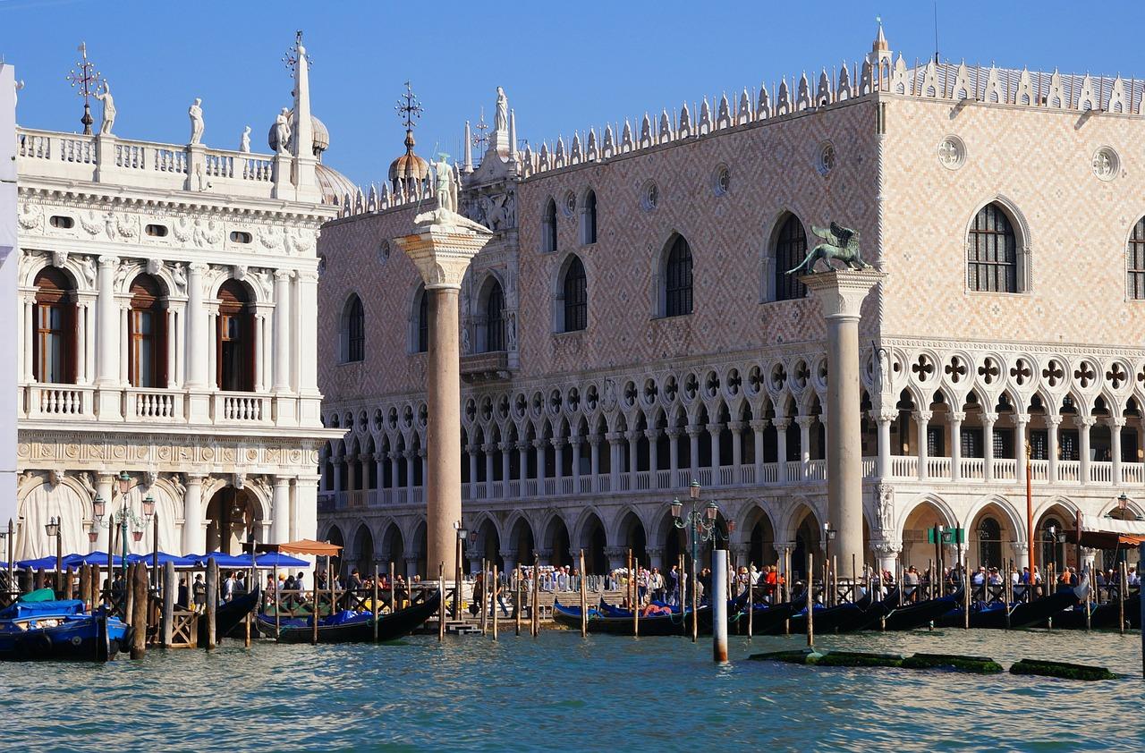venice doge's palace fotografia