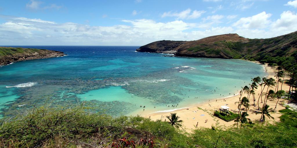 hawai beach fotografia