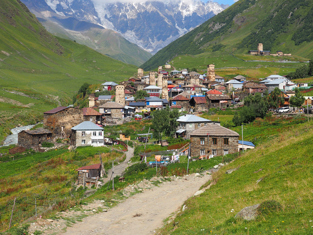 georgian ushguli fotografia