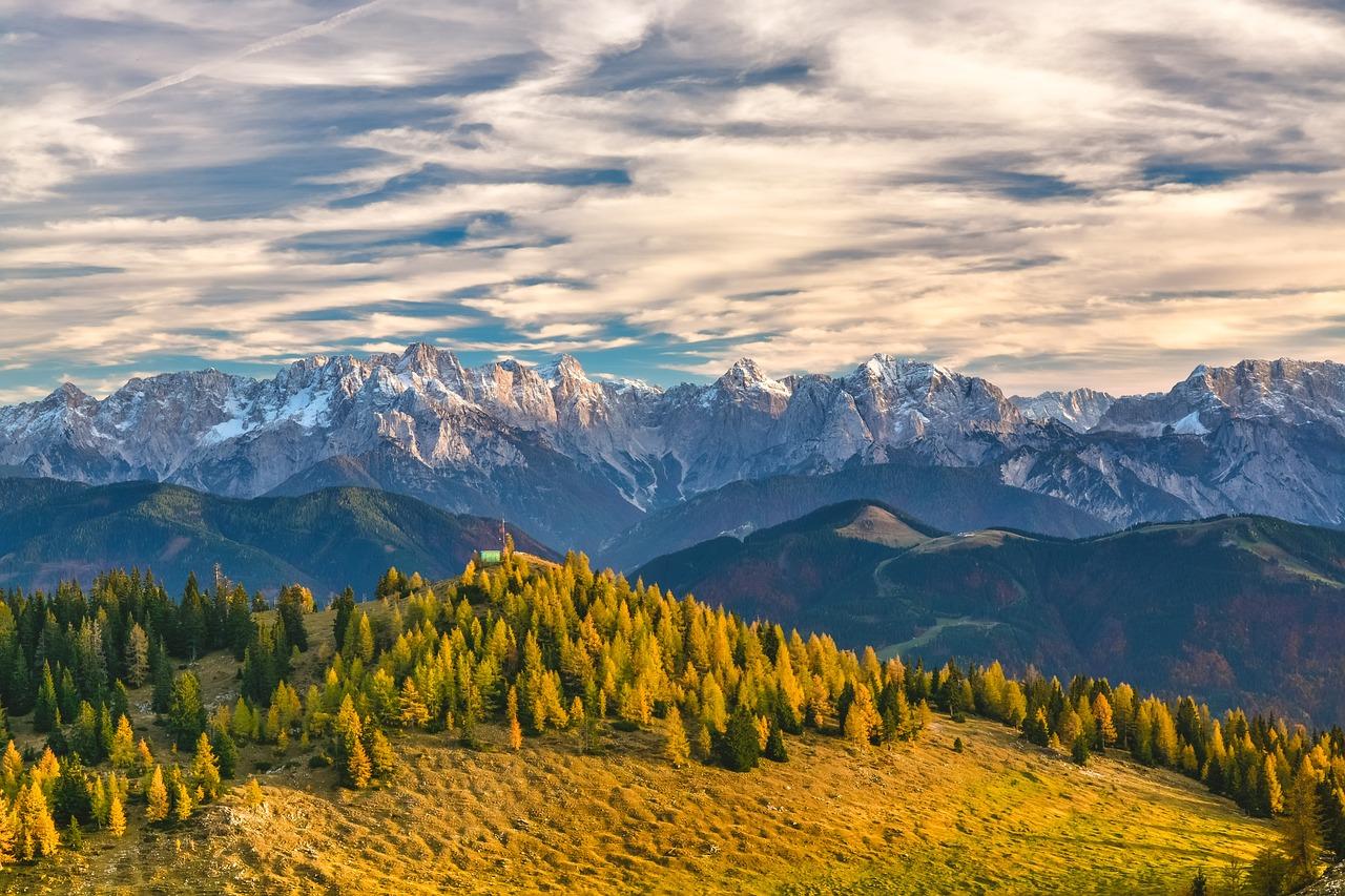 austria alps fotografia