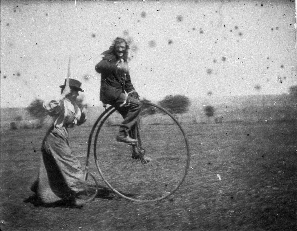 the penny farthing fotografia