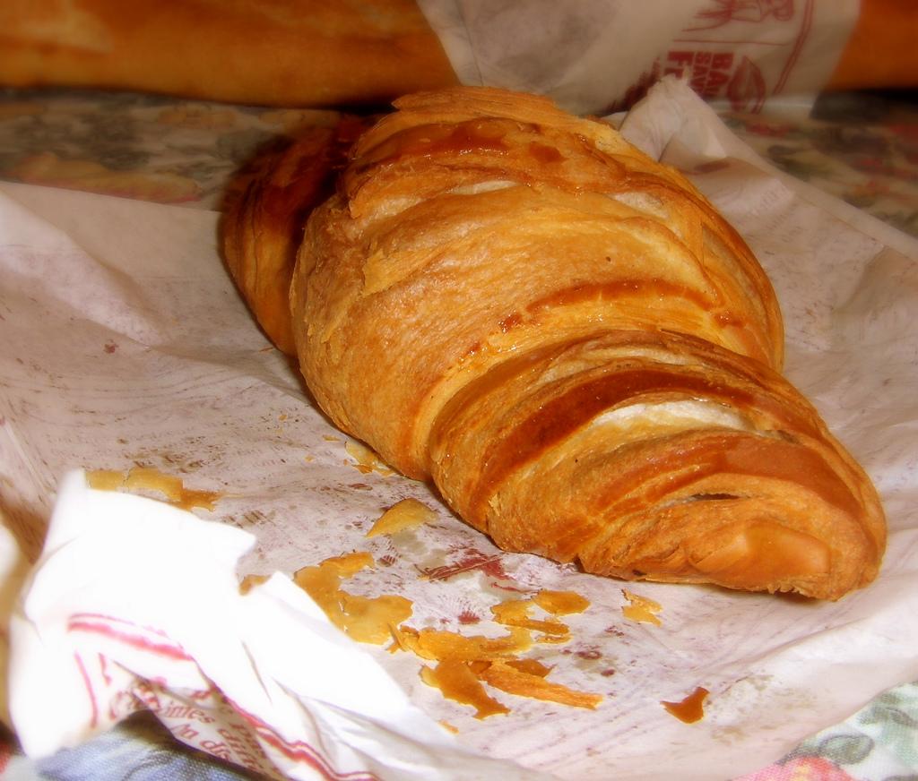 croissant fotografia