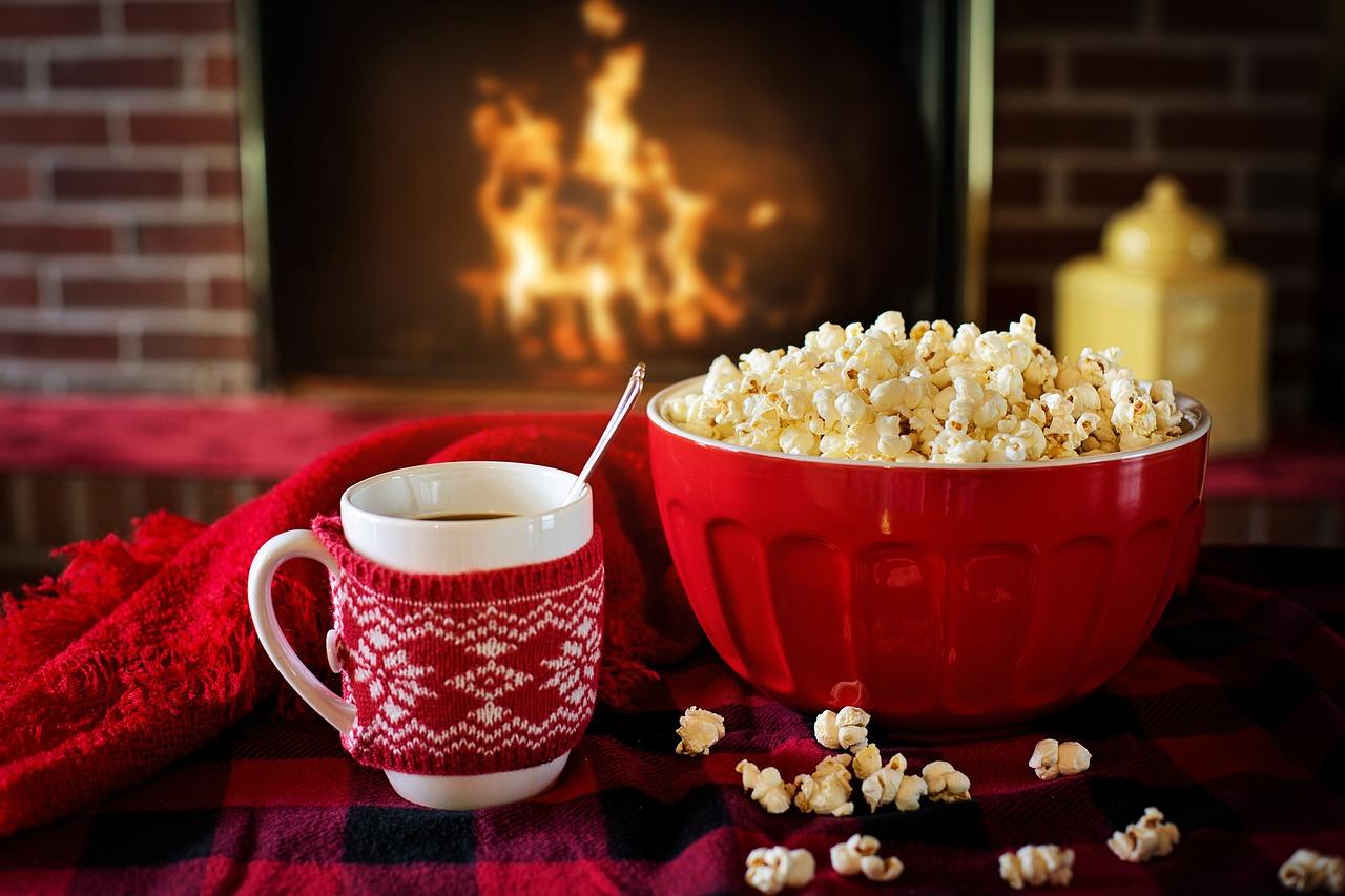 popcorn fotografia