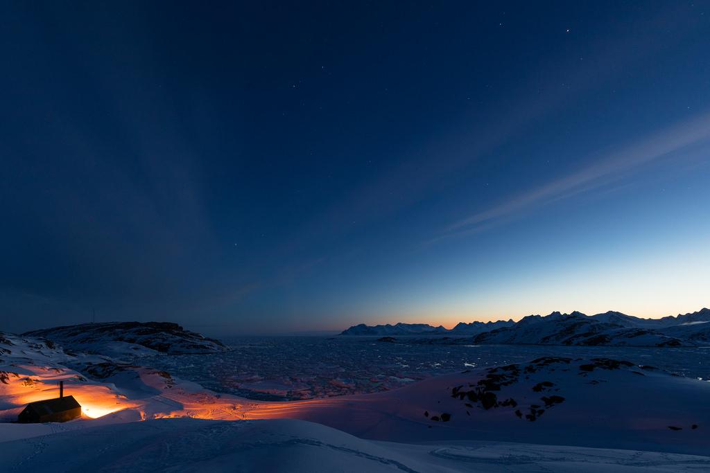 greenland Mount Gunnbjørn fotografia