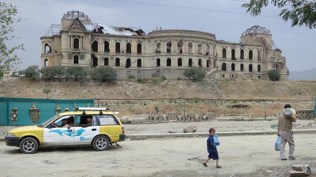 afghanistan flag fotografia