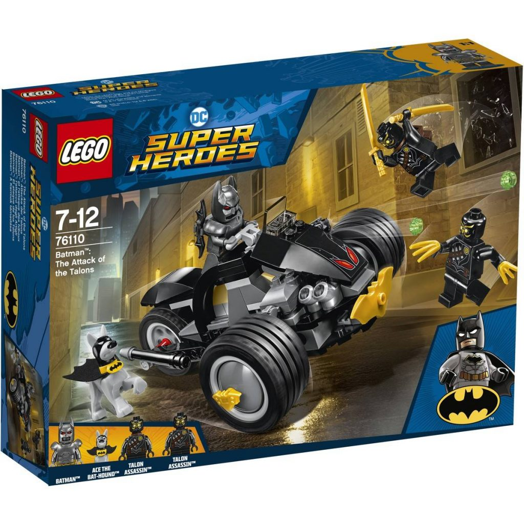 Lego Superhrdinovia DC