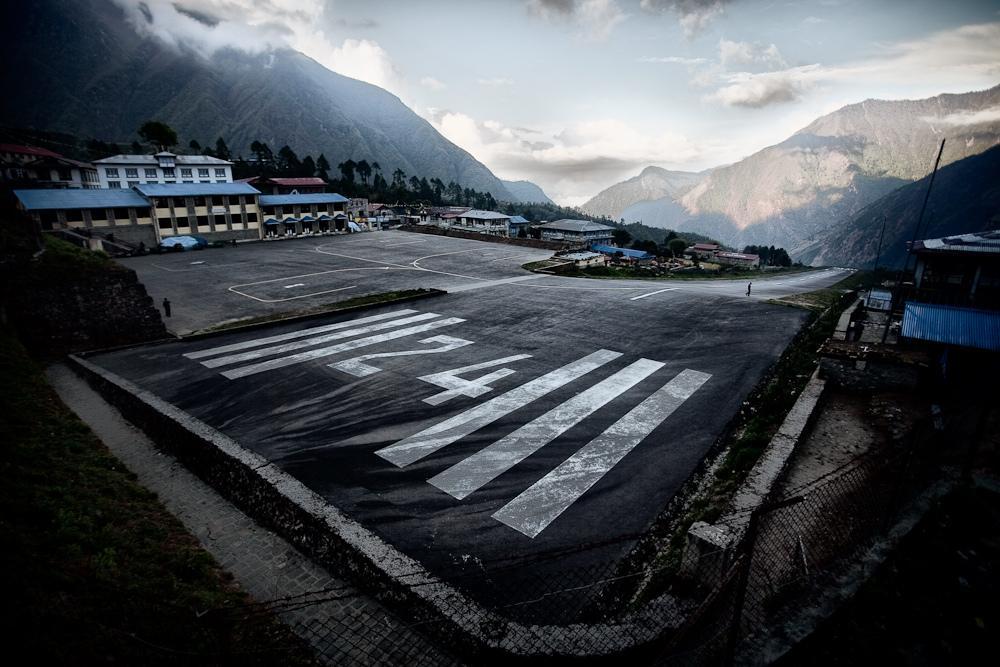Lukla Airport fotografia