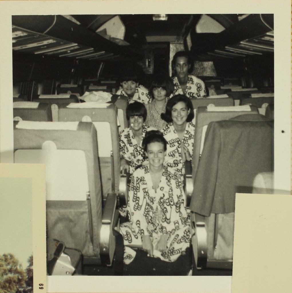 flight attendants fotografia