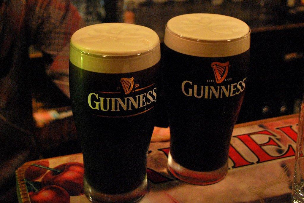 guinness beer fotografia