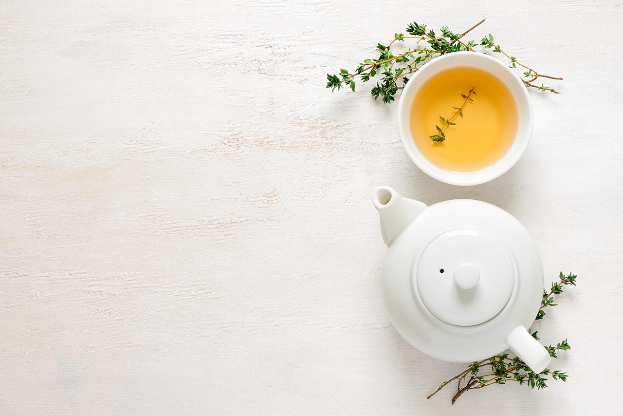 green tea fotografia