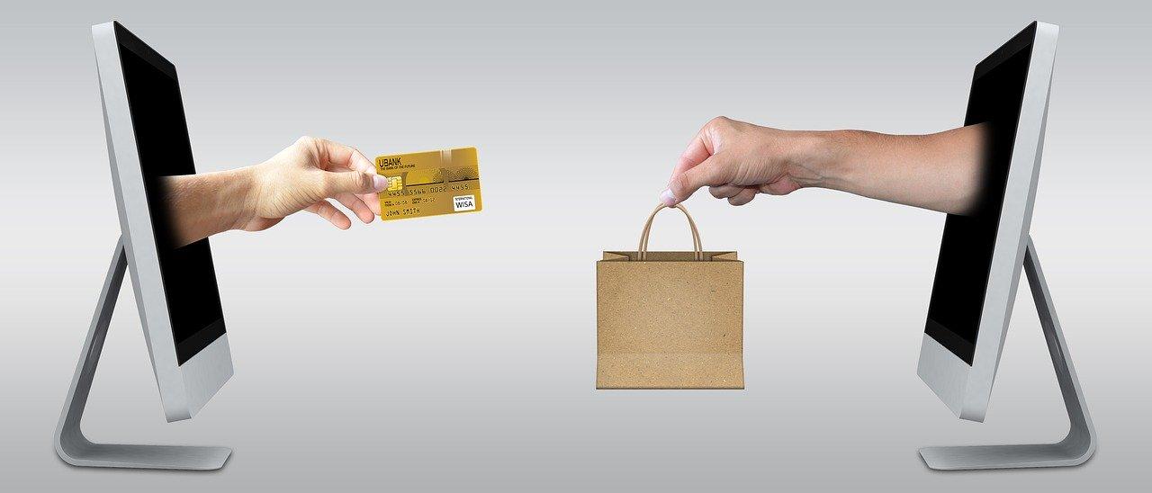 online shopping fotografia