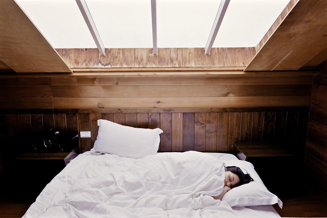 sleeping fotografia