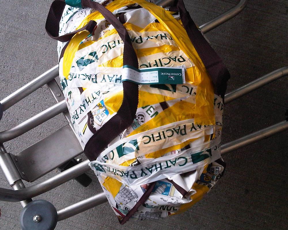 luggage on airports fotografia