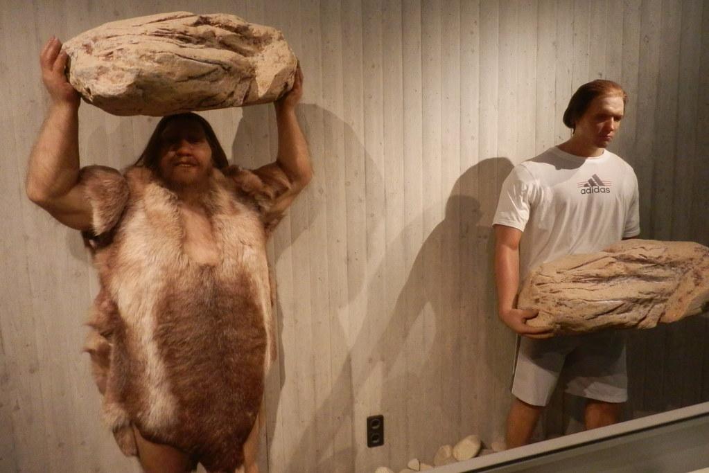 neanderthal fotografia