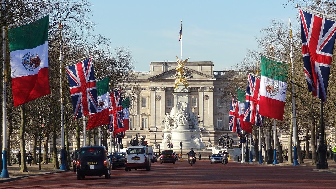 Buckingham Palace fotografia
